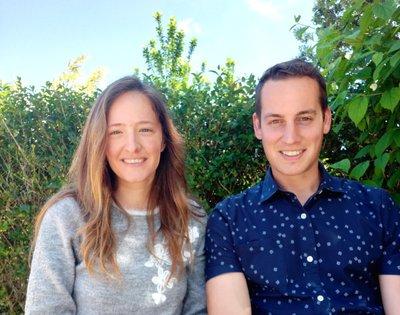 Aarón Mocho y Andrea Pérez, fundadores de LOOBO