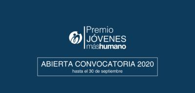 Premio Jóvenes máshumano 2020 para emprendedores sociales