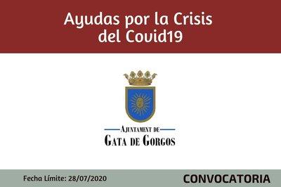 Ayudas por CRISIS  COVID19 - Ayuntamiento de Gata de Gorgos