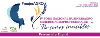 IV Foro Nacional BusinessAGRO Mujeres Agroprofesionales