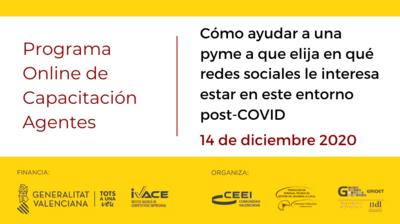 Jornada PCA Redes sociales
