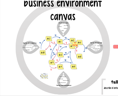 business environement CANVAS