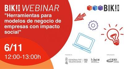 """BIk Webinar 5: """"Herramientas para modelos de negocio de empresas con impacto social"""""""