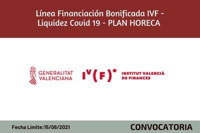Línea de Financiación Bonificada IVF - Liquidez Covid19- PLAN HORECA