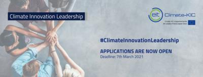 Climate Innovation Leadership 2021