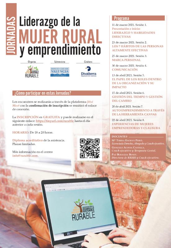 Jornadas Liderazgo de la Mujer Rural y Emprendimiento