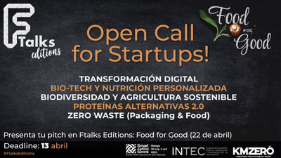 """Call for Startup """"Food for Good 2021"""""""