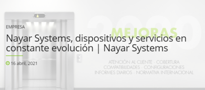 Nayar Systems, dispositivos y servicios en constante evolución