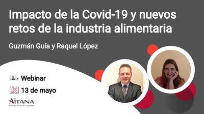 Webinar Impacto de la Covid-19 y nuevos retos de la industria alimentaria