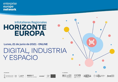 """Infotaller regional sobre el clúster 4 """"Digital, industria y espacio"""""""