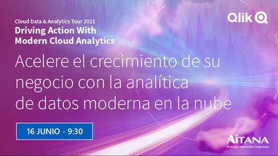 Evento Cloud Data & Analytics Tour de Qlik 2021