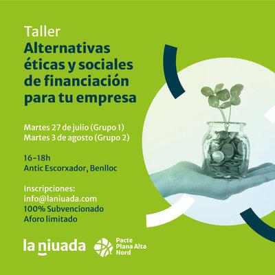 Taller finanzas alternativas