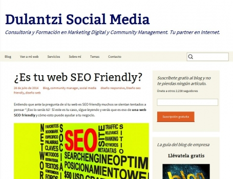 ¿Es tu web SEO Friendly? | Dulantzi Social Media