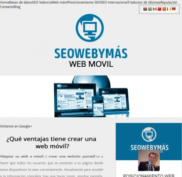 Web movil | Seowebymas
