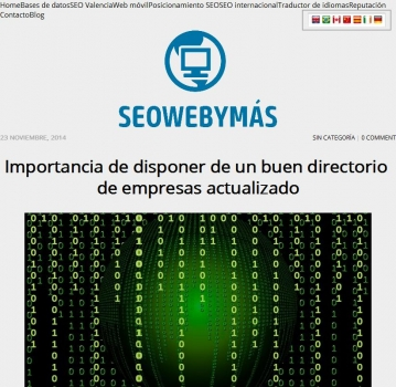 Blog - SEO WEB Y MAS